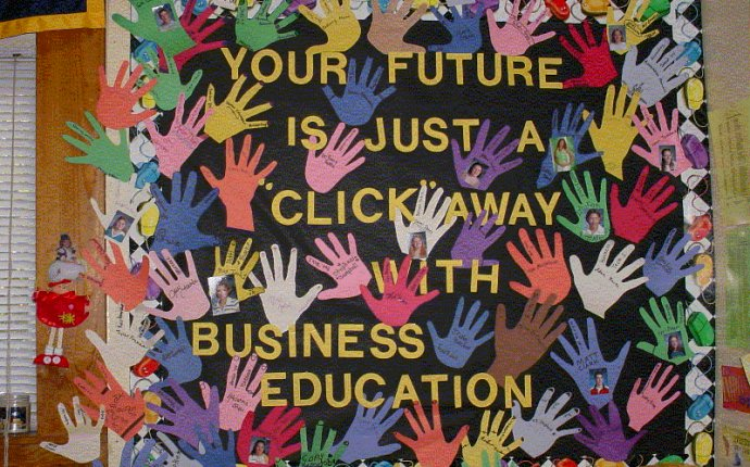 Business Education Bulletin Board Ideas