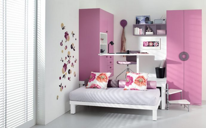 Cute teenage bedroom ideas : Cheerful Teenage Bedroom Ideas for