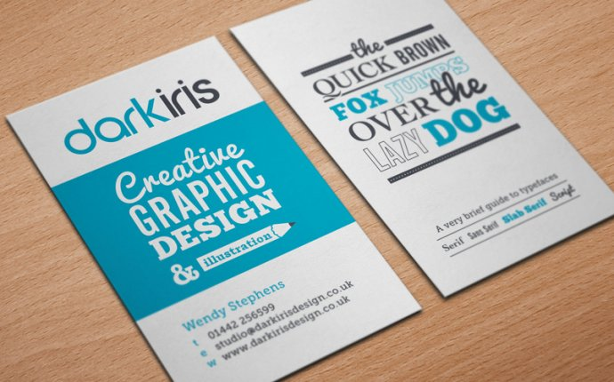 Business card IDEAS for Designers