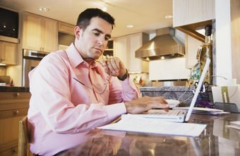 Having a dedicated work space in the home makes it easier to calculate business write-offs.