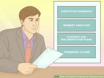 Image titled Prepare a Business Proposal for a Business Idea Step 7