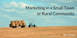Marketing in a Small Town or Rural Area